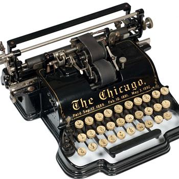 Chicago typewriter - 1899 - Office