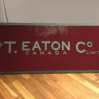 The T. EATON Co Limited, Winnipeg Store Building Sign  - Signs