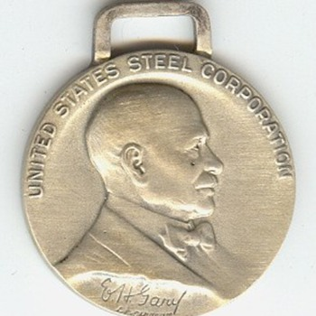 US Steel Corporation Long Service Medals - Medals Pins and Badges