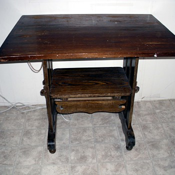 Newly purchased table