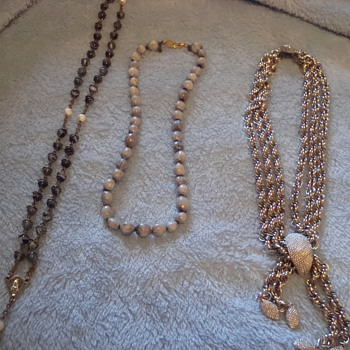 Some weekend finds - Costume Jewelry