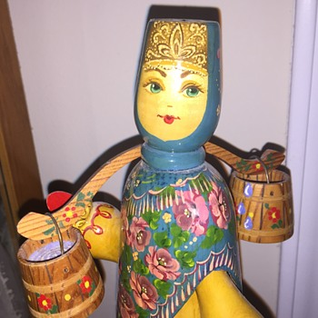 Russian wooden figure
