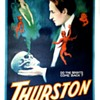 "Original Thurston ""Do The Spirits Come Back?"" Stone Lithograph Poster"