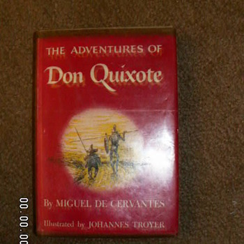 "1957 ~ First Print~ ""The Adventures of Don Quixote""  - Books"