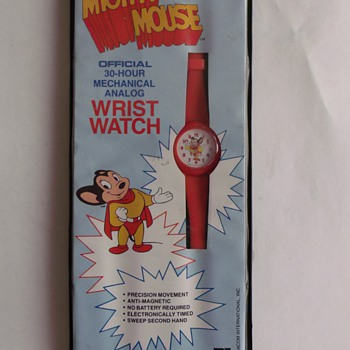 Bradley Time Mighty Mouse Wrist Watch