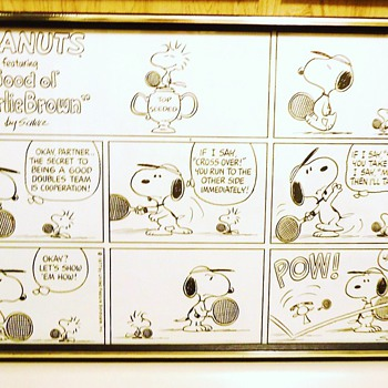 Repost New Info.  Charles Schulz Sunday Comic 1977