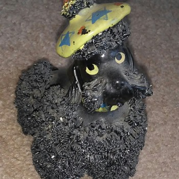 Dog with a silly hat  - Animals