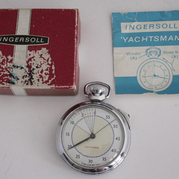 Ingersoll Yachtsman Stop Watch - Pocket Watches