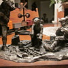 Vintage  Pewter Sculptures