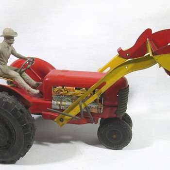 Marx tractor with Loader - Model Cars