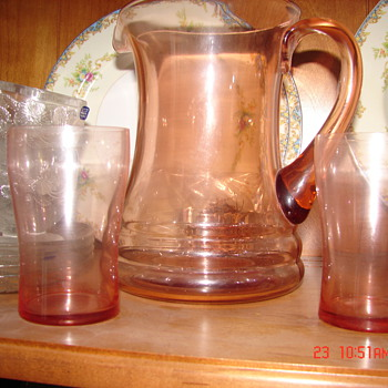 Another Depression Pitcher - Glassware