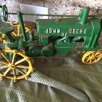 John deer dp antique tractor