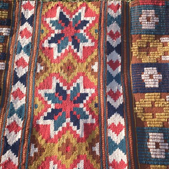Old handcraftet wallhanging from Sweden - Rugs and Textiles