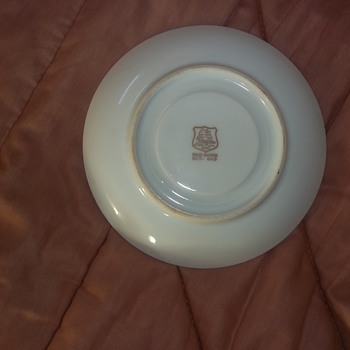 Saucer marked Del Mar - China and Dinnerware