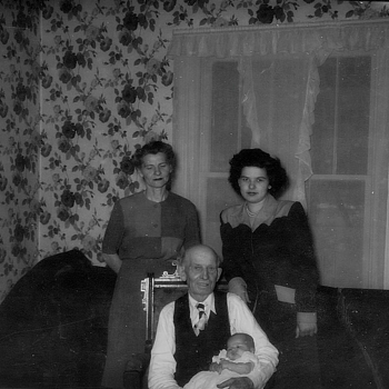 4 generations of my family way back when :-)  - Photographs