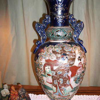 Great Grandmothers Vase - Asian