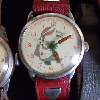 Rexall Exclusive Bugs Bunny Watches - Wristwatches