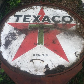 Texaco Green T - Signs