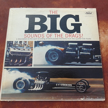 The BIG Sounds Of The Drags Album - Records