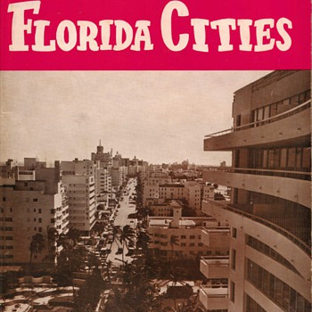 1965 Florida Cities Visitors Guide - Paper
