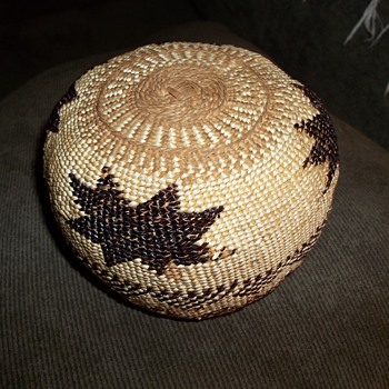 Hupa Basket  - Native American