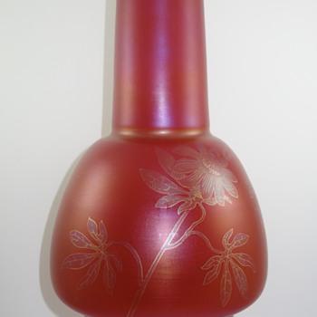 Glasfabrik Schliersee Vase, ca. 1901 (Part 1) - Art Glass