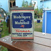 OLD MOBILGAS TIN.