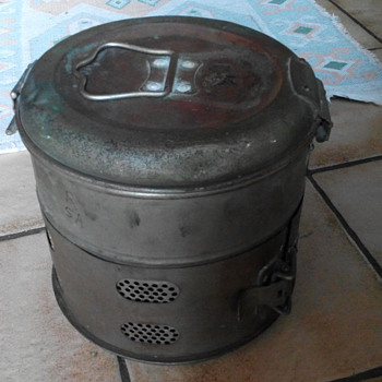 Charcoal Heater - Military and Wartime