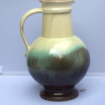 Antique large pitcher