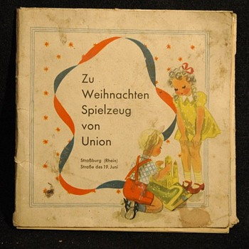 ancien catalogue de jouets MAGASIN UNION -STRASBOURG, vers 1940