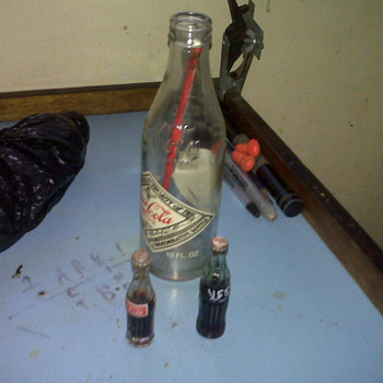 Small Coke bottles