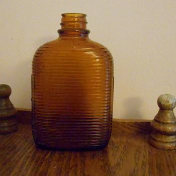 Old Amber Bottle