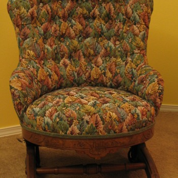 Small Turkish Rocker  - Furniture