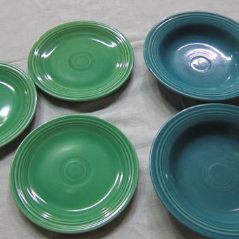 Vintage Fiesta Bowls & Plates - Kitchen