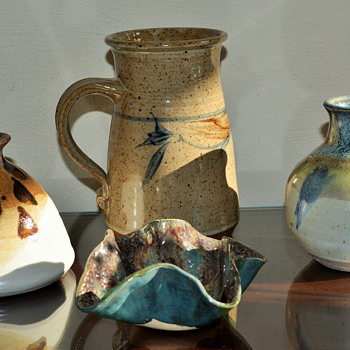 Small Studio Pottery finds this weekend....