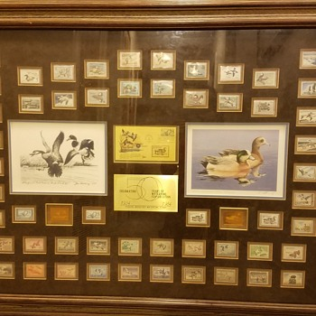 50th Anniversary Federal Duck Stamp Collection