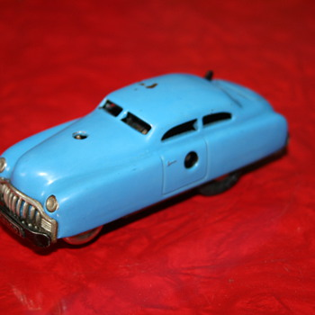 schuco tin toy car limo