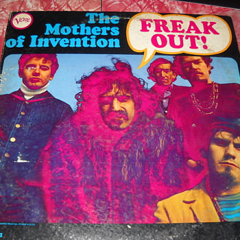 "Frank Zappa The Mothers Of Invention ""Freak Out"" ! Promo copy - Records"