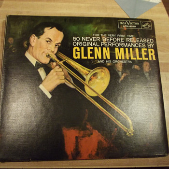 Glenn Miller for The Very First Time, 1959  - Records