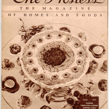 "1934 - ""The Hostess"" Recipes Magazine"
