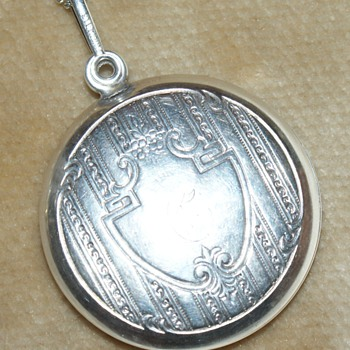 Sterling Silver Pendant and Mirror