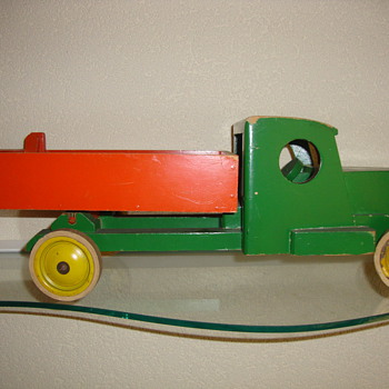 vintage toy truck by ado