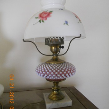 Hope you can tell me about our lamps - Lamps