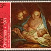 "1971 - New Zealand ""Christmas"" Postage Stamp"