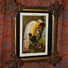 Old German Bird-of-Paradise Print Framed