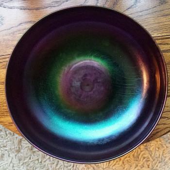 Pretty Glass Bowl - British ? Czech ?