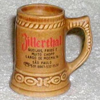 """Zillerthal - Sao Paulo"" Mini-stein Shotglass  - Breweriana"