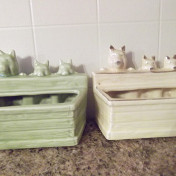 Three Little Piglets - Pottery