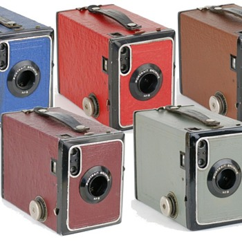 Kodak No 2 Brownie portrait camera