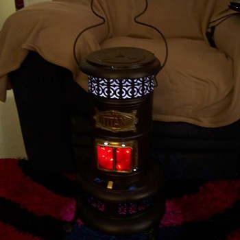 Kerosene heater Converted to lamp